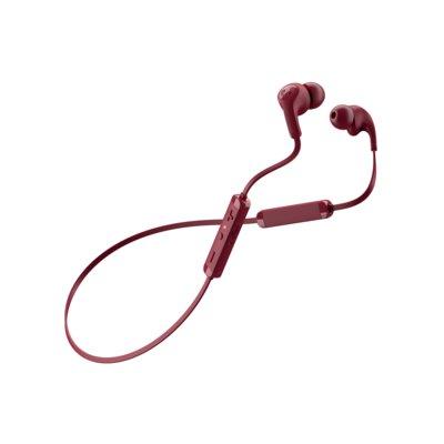 Słuchawki douszne FRESH N REBEL Flow Tip Wireless Ruby Red Bordowy Electro e1265802