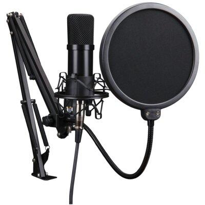 Mikrofon MAD DOG Pro GMC301 streamingowy uchwyt 360 stopni filtr POP statyw