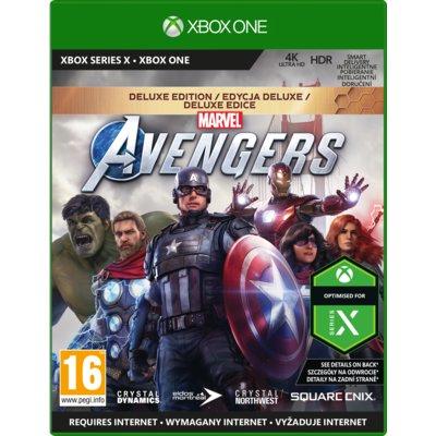 Marvel's Avengers – Edycja Deluxe Gra XBOX ONE Electro 698855