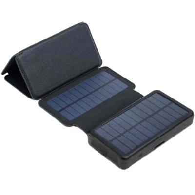 Panel solarny POWERNEED ES20000B z powerbankiem 20000 mAh Czarny Electro 164017