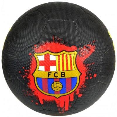 Piłka nożna FC BARCELONA (rozmiar 5) Czarny Electro e1271087