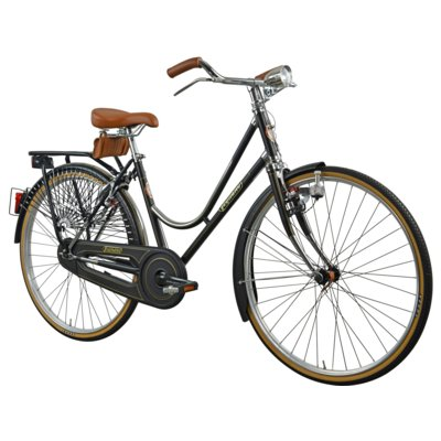 Rower miejski LEGNANO L101 Viaggio D1B Czarny Electro 619339