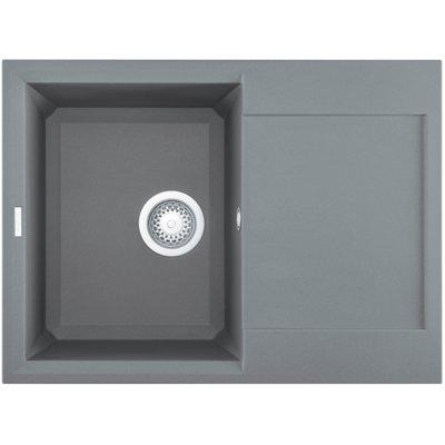 Zlewozmywak ELLECI Easy 135 M73 Titanium Electro e1338460