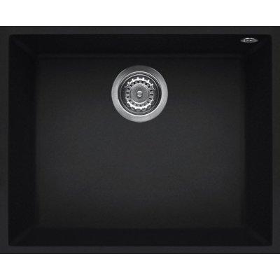 Zlewozmywak ELLECI Quadra 105 BSO K86 Czarny Electro e1338456