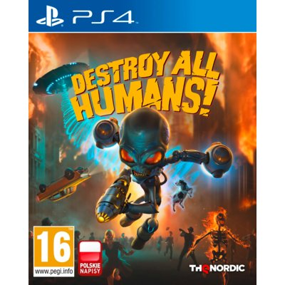 Destroy All Humans! DNA Collector's Edition Gra PS4 Electro 200172