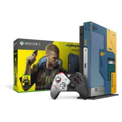 Konsola MICROSOFT XBOX ONE X 1TB Limited Edition Cyberpunk 2077 Electro 202704