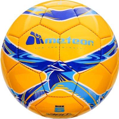 Piłka nożna METEOR 360 Shiny HS 00068 Electro e1343491