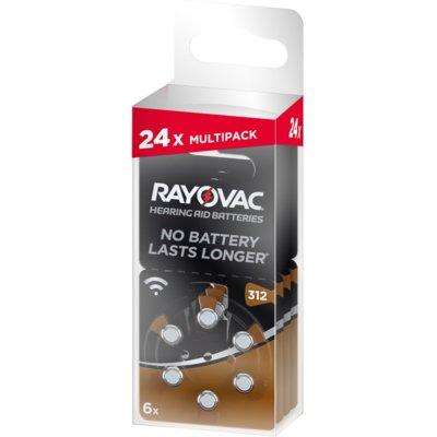 Baterie 312 PR41 RAYOVAC (24 szt.) Electro 306665