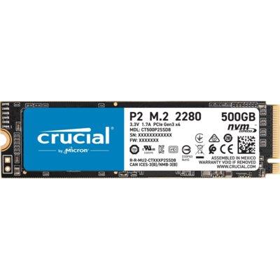 Dysk CRUCIAL P2 500GB SSD Electro 315420