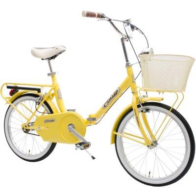 Rower miejski z koszykiem CINZIA Smarty 20 1B Żółty Electro 308671