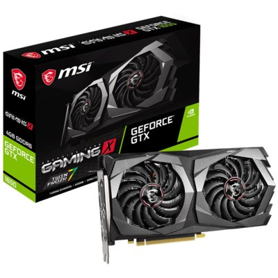 Karta graficzna MSI GeForce GTX 1650 D6 Gaming X 4GB Electro 310325