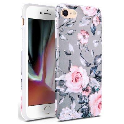 Etui TECH-PROTECT Floral do Apple iPhone 7/8/SE 2020 Szary Electro 310559