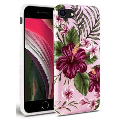 Etui TECH-PROTECT Floral do Apple iPhone 7/8/SE 2020 Różowy Electro 310561