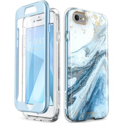 Etui SUPCASE Cosmo do Apple iPhone 7/8/SE 2020 Niebieski Electro 310612