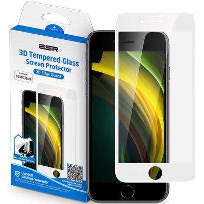 Szkło hartowane ESR Screen Shield 3D do Apple iPhone 7/8/SE 2020 Biały Electro 310632