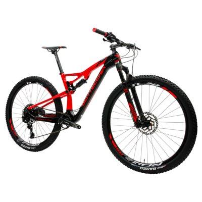 Rower górski MTB BOTTECCHIA Gardena M19 Czarno-czerwony Electro 314795