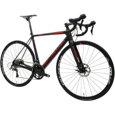 Rower BOTTECCHIA Racing Domina M21 Czarno-czerwony Electro 314788