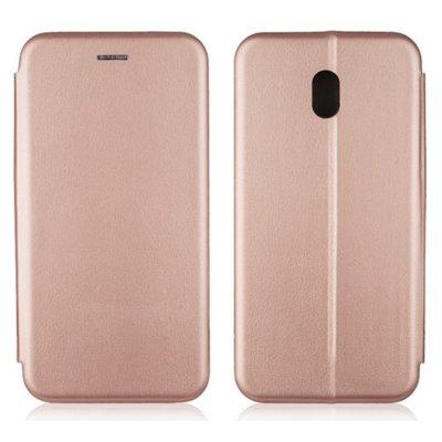 Etui BOOK MAGNETIC do Xiaomi Redmi 8A Różowo-złoty Electro 316120