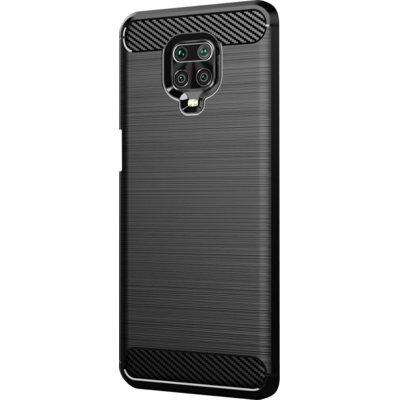 Etui WINNER GROUP Carbon do Xiaomi Redmi Note 9 Pro Czarny Electro 316023