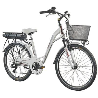 Rower elektryczny TORPADO Afrodite D17 Biały mat Electro 316251
