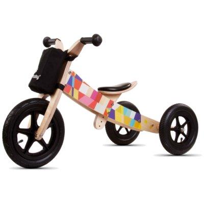 Rowerek biegowy SUN BABY Twist 2w1 Mosaic Wielokolorowy Electro 318613