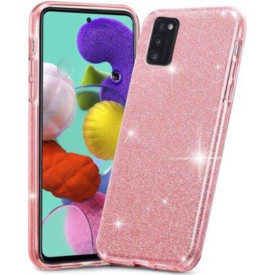 Etui TECH-PROTECT Glitter Shine do Samsung Galaxy A41 Różowy Electro 318891