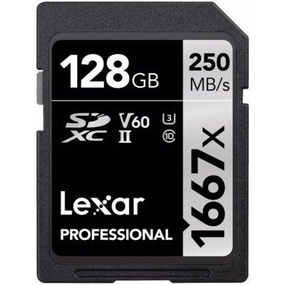Karta pamięci LEXAR Professional 1667x SDXC 128GB