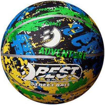 Piłka koszykowa BEST SPORTING Adventure Mini (rozmiar 1) Electro e1367015