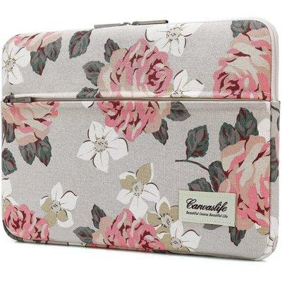 Etui na laptopa CANVASLIFE Sleeve 13-14 cali White Rose Electro 322211
