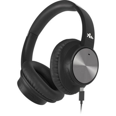 Słuchawki nauszne AUDICTUS Conqueror ANC Czarny Electro 183881