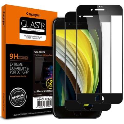 Szkło hartowane SPIGEN Glass FC do Apple iPhone 7/8/SE 2020 Czarny