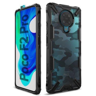 Etui RINGKE Fusion X do Xiaomi Poco F2 Pro Camo Czarny Electro 325119