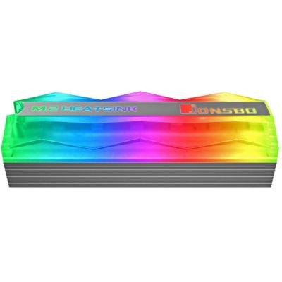 Chłodzenie SSD JONSBO M.2-2 Mirage Edition Szary Electro 325894