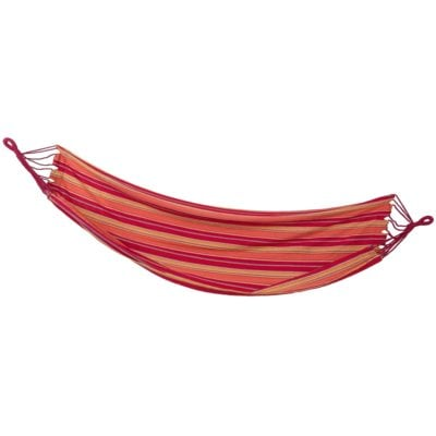 Hamak SPOKEY Ipanema 200×100 cm Czerwono-pomarańczowy Electro e1393520