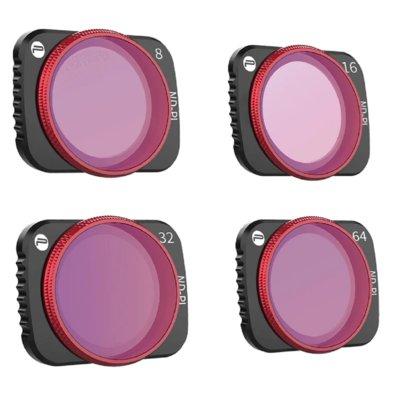 Zestaw filtrów PGYTECH ND-PL 8 16 32 64 do DJI Mavic Air 2