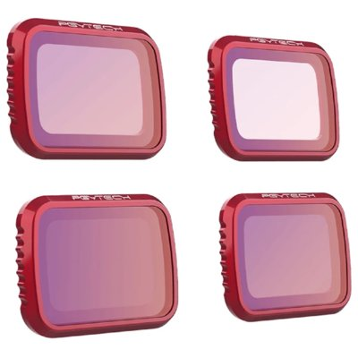 Zestaw filtrów PGYTECH ND 8 16 32 64 do DJI Mavic Air 2