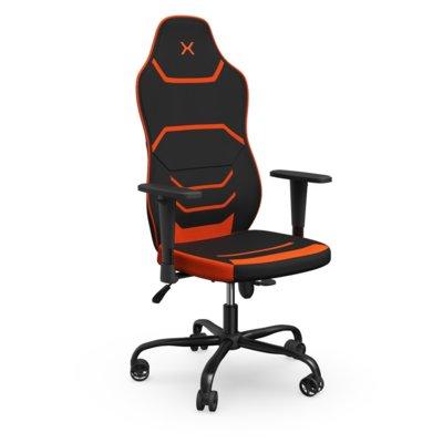 Fotel KRUX Sfero Czarno-pomarańczowy Electro 340645