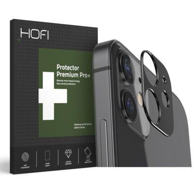 Nakładka na obiektyw HOFI Metal Styling Camera do Apple iPhone 12 mini Czarny