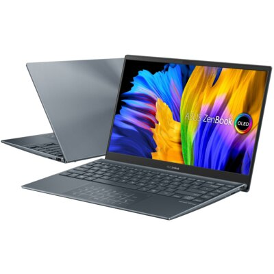 "Laptop ASUS ZenBook UX325EA 13.3"" OLED i7-1165G7 16GB SSD 512GB Windows 10 Home"