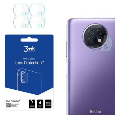 Szkło hybrydowe 3MK Lens Protection do Xiaomi Redmi Note 9T