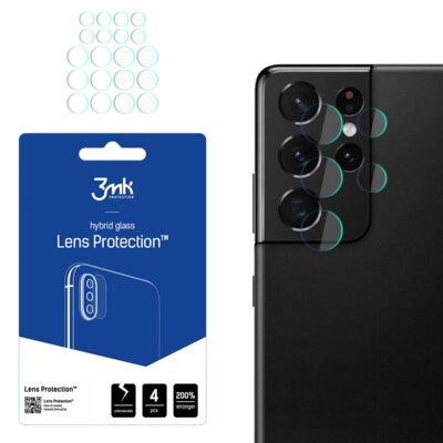 Szkło hybrydowe 3MK Lens Protection do Samsung Galaxy S21 Ultra
