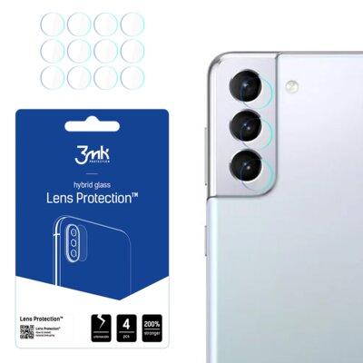 Szkło hybrydowe 3MK Lens Protection do Samsung Galaxy S21+