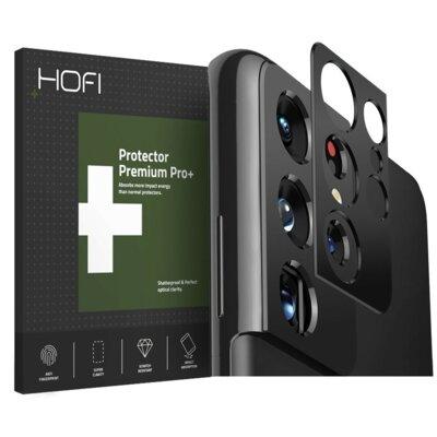 Nakładka na obiektyw HOFI Metal Styling Camera do Samsung Galaxy S21 Ultra Czarny