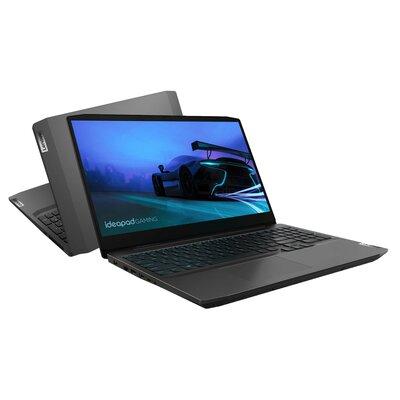 "Laptop LENOVO IdeaPad Gaming 3 15ARH05 15.6"" IPS R5-4600H 8GB SSD 512GB GeForce 1650Ti Windows 10 Home"