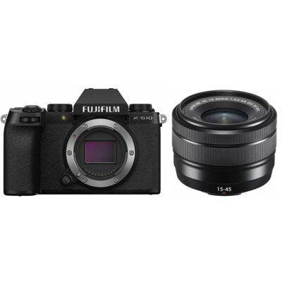 Aparat FUJIFILM X-S10 Czarny + Obiektyw XC 15-45mm Kit