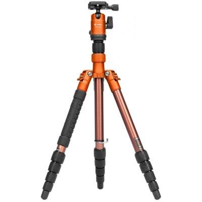 Statyw FOTOPRO X-go Gecko FPH-42Q Pomarańczowo-brązowy