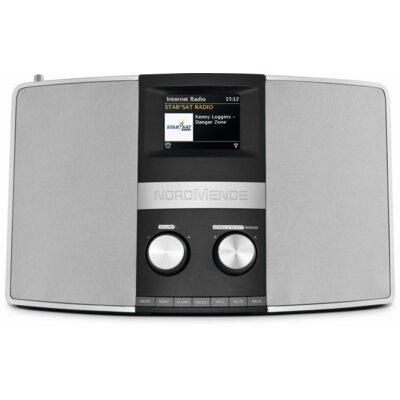 Radio NORDMENDE Transita 400 Czarno-srebrny
