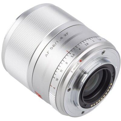 Obiektyw VILTROX AF 56 mm 1.4 FX STM Fuji X Srebrny