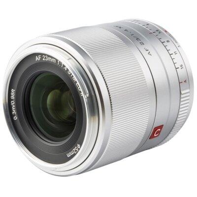 Obiektyw VILTROX AF 23mm f/1.4 STM XF Fuji X Srebrny