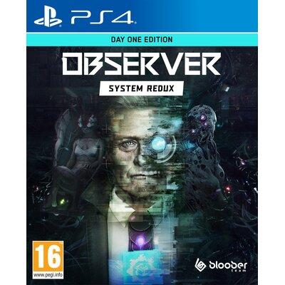 Observer: System Redux - Day One Edition Gra PS4 (Kompatybilna z PS5)